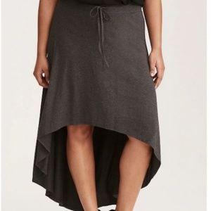 Torrid Jersey Hi-Lo Maxi Skirt